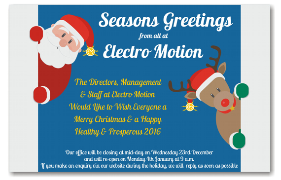Happy Christmas Electro Motion Used Machinery Suppliers