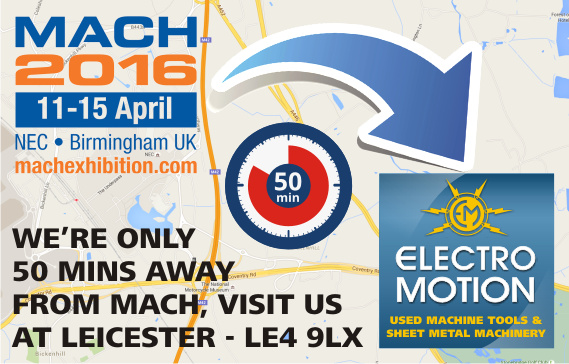 MACH 2016 visit Electro Motion